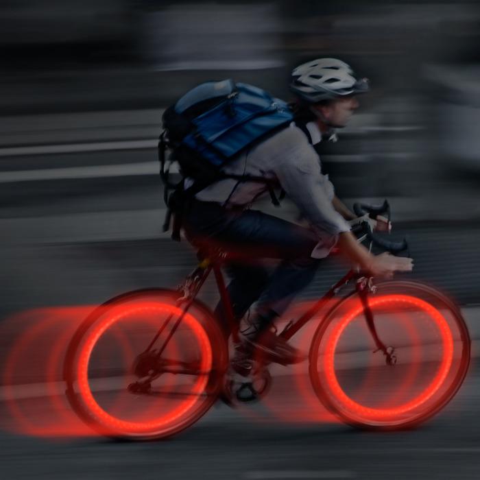 Lampki Na Szprychy Seeem Mini Czerwone 2pak