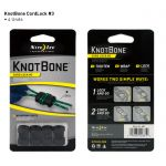 Stoper do linek KnotBone cord lock #3 4pack