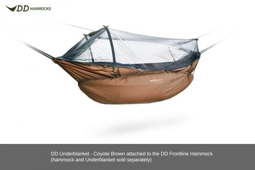 Ocieplacz do hamaka Underblanket - DD Hammocks coyote